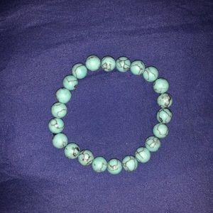 Jewelry - Turquoise Stone Mala Beads Bracelet